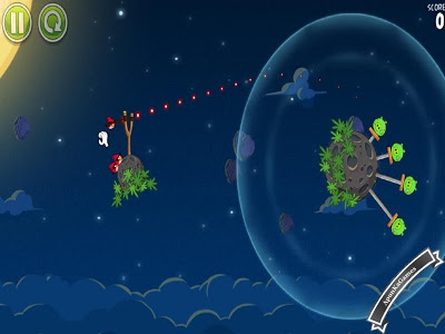 Angry Birds Space screenshot / cover new