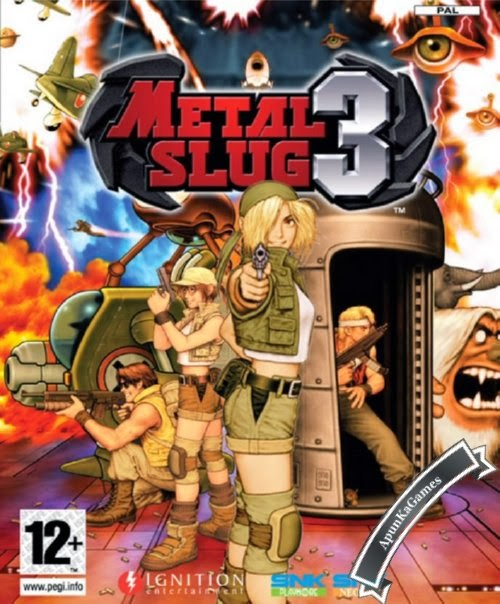 Metal Slug 3 / cover new