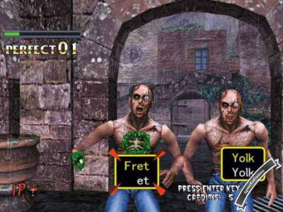 The Typing Of The Dead 1 Screenshot photos 2
