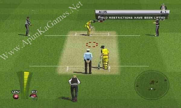 Brian Lara International Cricket 2005 Screenshot 1, Full Version, PC Game, Download Free