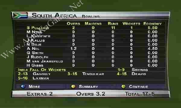 Brian Lara International Cricket 2005 Screenshot 3, Full Version, PC Game, Download Free