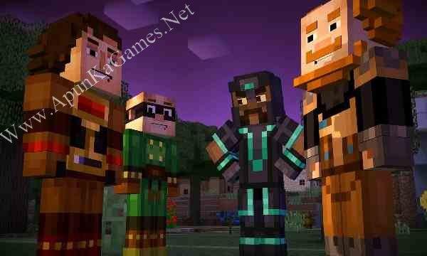 Minecraft: Story Mode Episode 3 Screenshot 1, Full Version, PC Game, Download Free