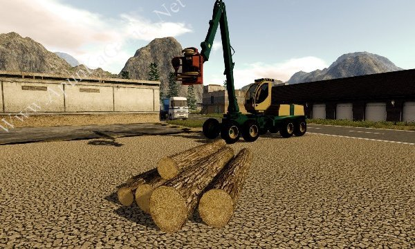 Forestry 2017: The Simulation Screenshot 1, Full Version, PC Game, Download Free