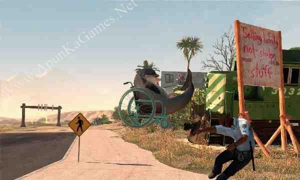 Goat Simulator: PAYDAY Screenshot 1, Full Version, PC Game, Download Free