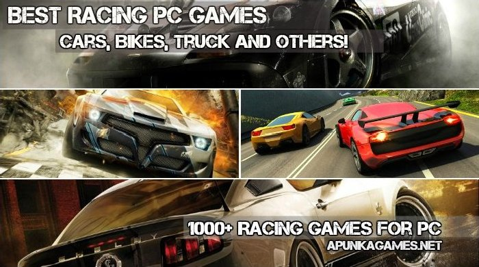 Racing Games for PC, pc games cars games bikes racing games poster cover wallpapers images