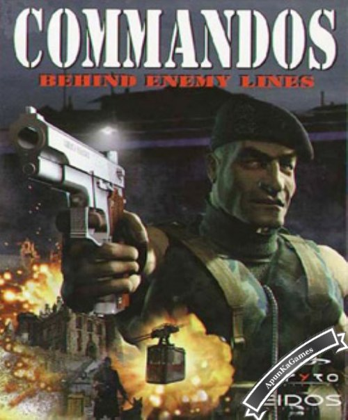 Commandos: Behind Enemy Lines / cover new