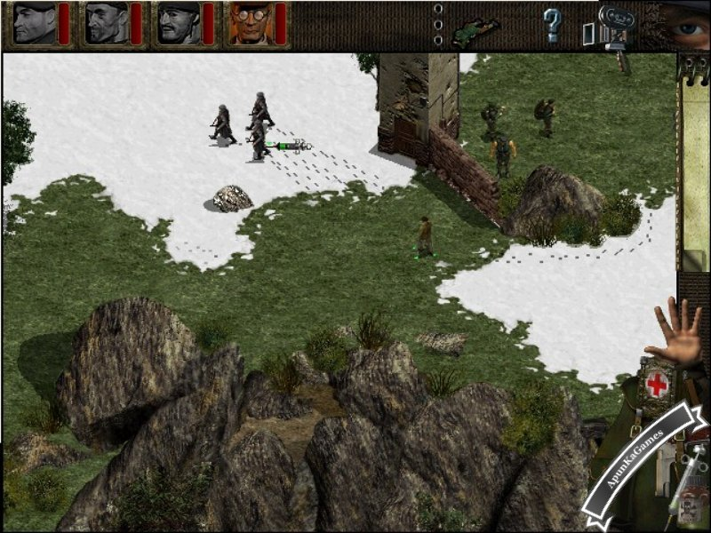 Commandos: Behind Enemy Lines Screenshot 1
