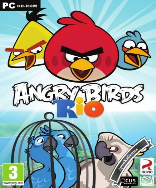 Angry Birds Rio / cover new