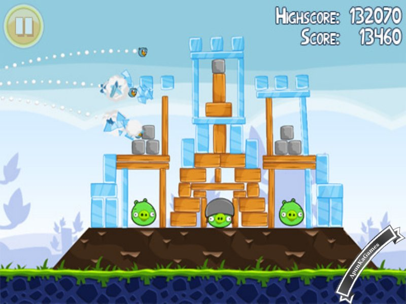 Angry Birds 1 Screenshot 1
