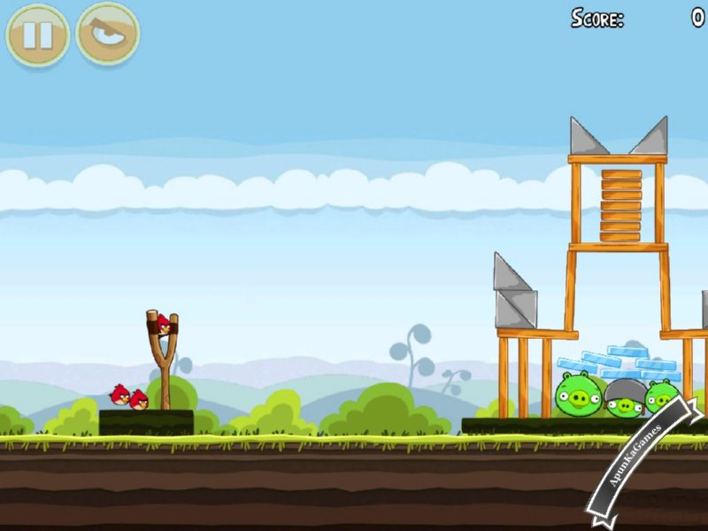 Angry Birds 1 Screenshot 2