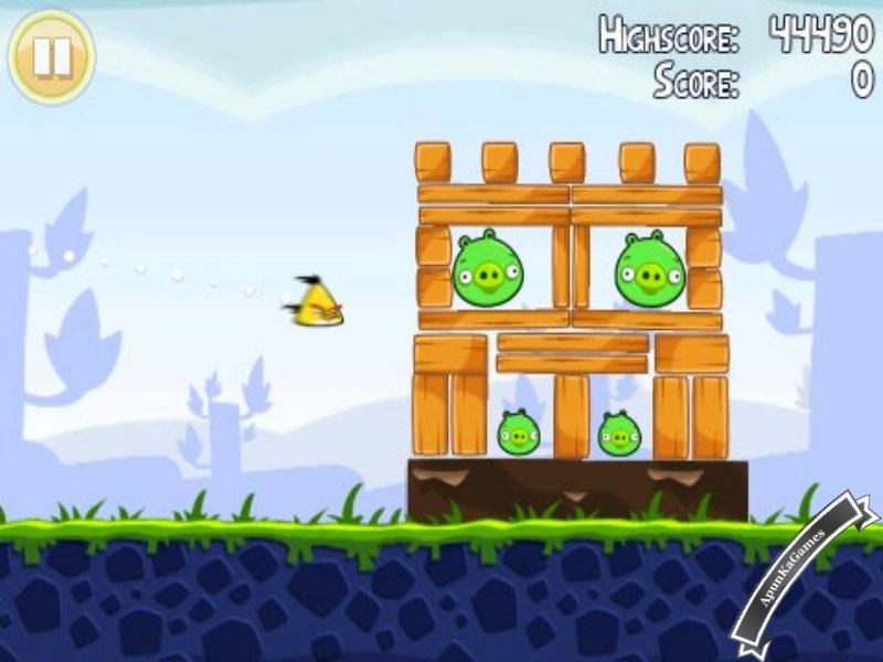 Angry Birds 1 Screenshot 3