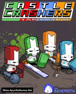 Castle Crashers Cover, Poster