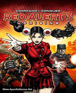 Command & Conquer: Red Alert 3 Uprising Cover, Poster