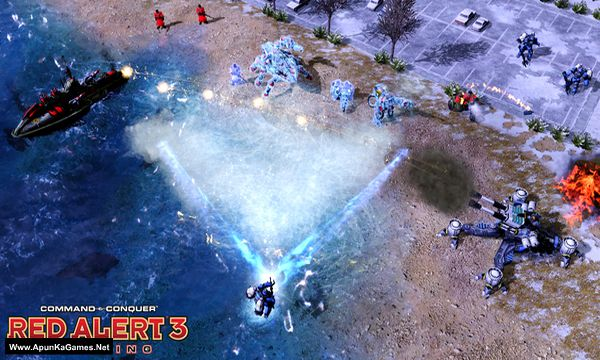 Command & Conquer: Red Alert 3 Uprising Screenshot 2