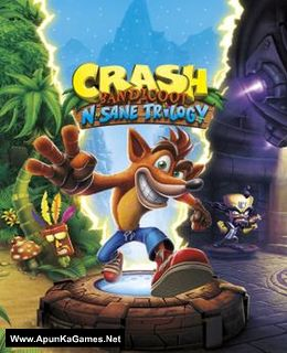 Crash Bandicoot N. Sane Trilogy Cover, Poster