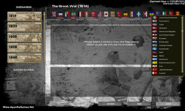 Darkest Hour: A Hearts of Iron Game Screenshot 2