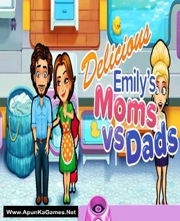 Delicious: Emily's Moms vs Dads Cover, Poster