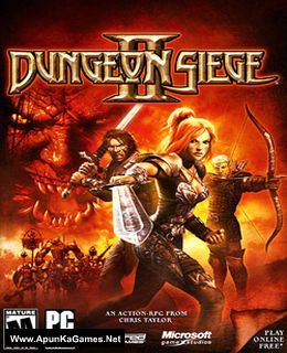 Dungeon Siege 2 Cover, Poster