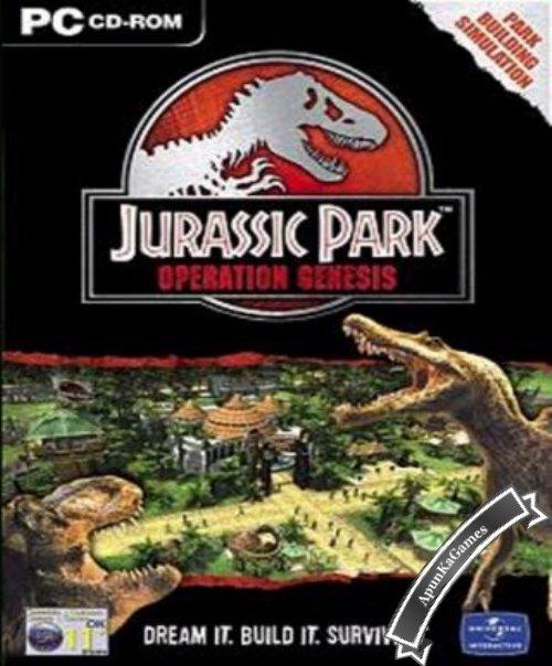 Jurassic Park Operation Genesis / cover new