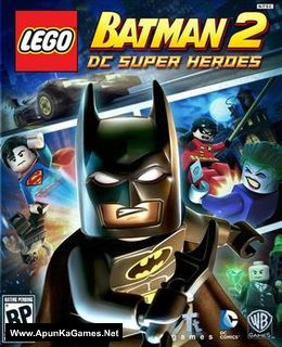 Lego Batman 2: DC Super Heroes Cover, Poster