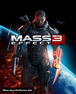 Mass Effect 3 Cover, Poster