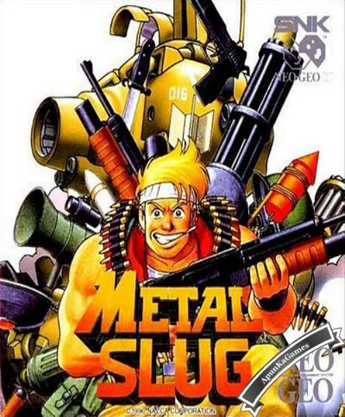Metal Slug 1 / cover new