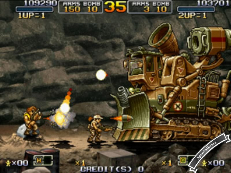 Metal Slug 1 Screenshot 2