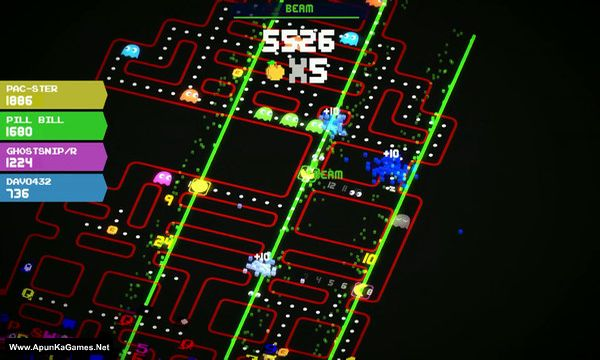 Pac-Man 256 Screenshot 3