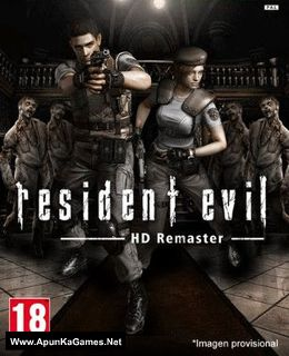 Resident Evil HD Remaster Cover, Poster
