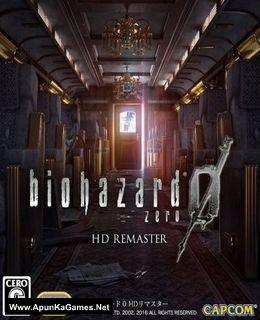 Resident Evil Zero HD Remaster Cover, Poster