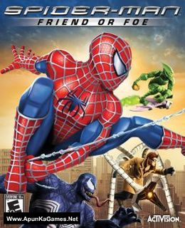 Spider-Man: Friend or Foe Cover, Poster