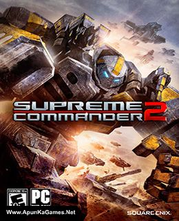 Supreme Commander 2 Cover, Poster