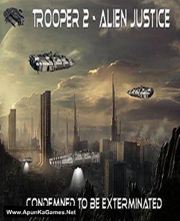 Trooper 2: Alien Justice Cover, Poster