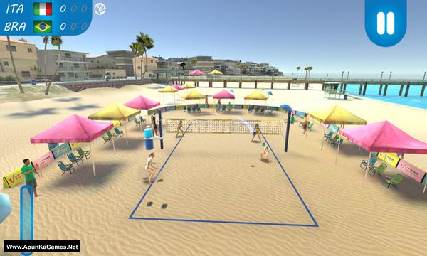VTree Beach Volleyball Screenshot 1