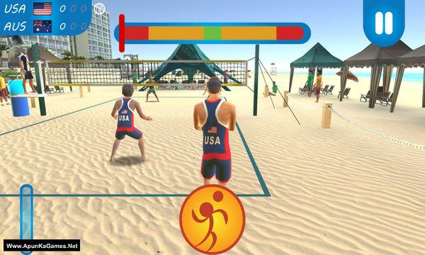 VTree Beach Volleyball Screenshot 3