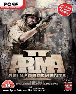 Arma 2: Reinforcements Cover, Poster