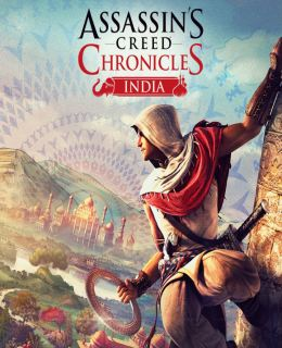 Assassin's Creed Chronicles: India Cover, Poster