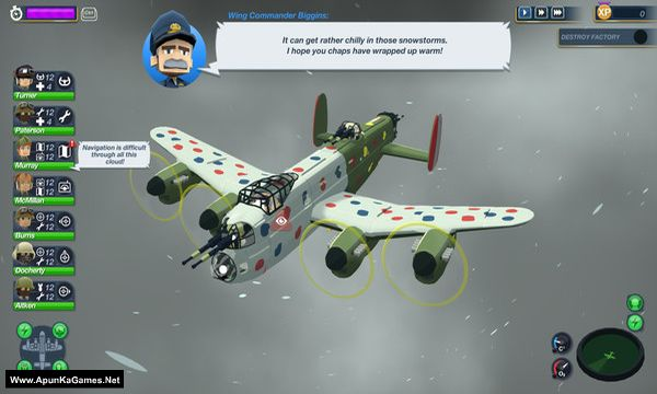 Bomber Crew Secret Weapons Screenshot 1