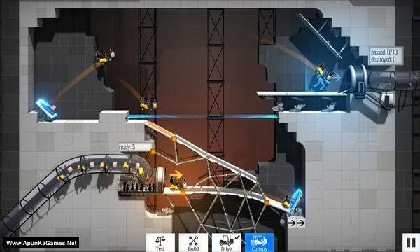 Bridge Constructor Portal Screenshot 1