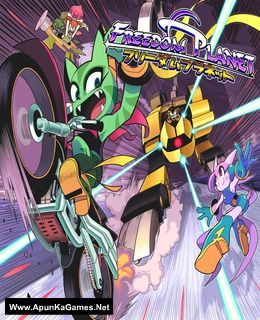 Freedom Planet Cover, Poster