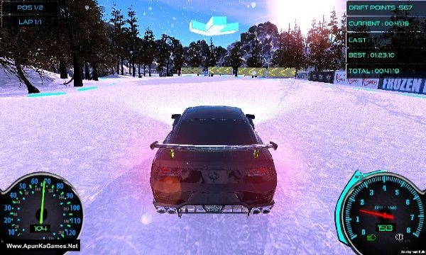 Frozen Drift Race Screenshot 1
