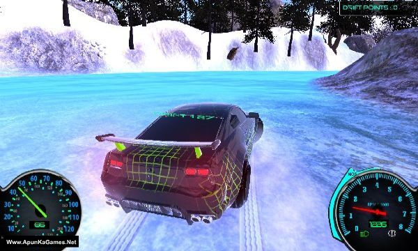 Frozen Drift Race Screenshot 3