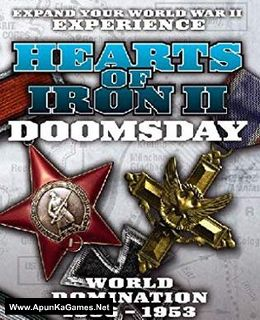 Hearts of Iron 2 Doomsday Cover, Poster