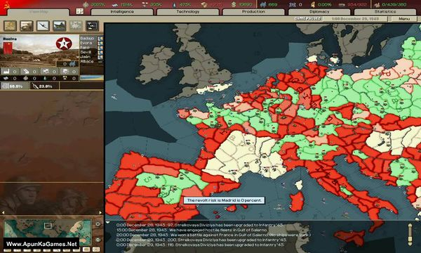 Hearts of Iron 2 Doomsday Screenshot 2