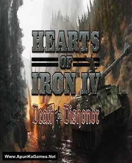 Hearts of Iron 4: Death or Dishonor Cover, Poster