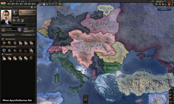 Hearts of Iron 4: Death or Dishonor Screenshot 1