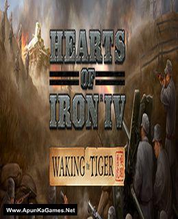 Hearts of Iron 4 Waking the Tiger Cover, Poster