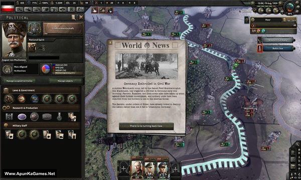 Hearts of Iron 4 Waking the Tiger Screenshot 2