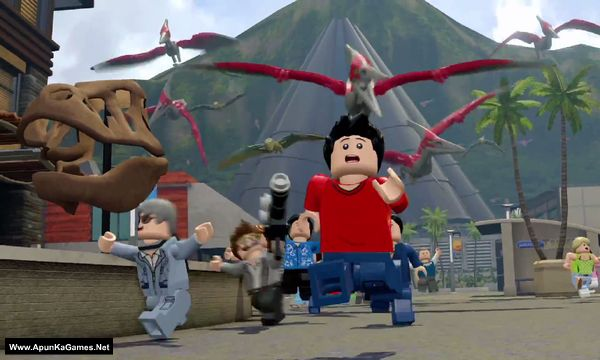 Lego Jurassic World Screenshot 2