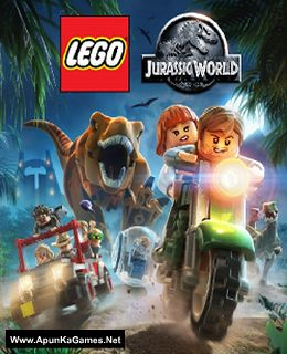 Lego Jurassic World Cover, Poster